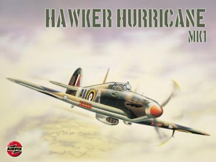 Hawker Hurricane (Airfix) - Metal Wall Sign (3 sizes)